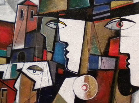 Neo Cubism Art Gallery